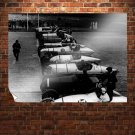 Classic Car Classic Race Retro Vintege Poster 32x24 inch
