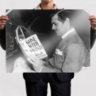 Gone With The Wind Clark Gable Book Retro Vintege Poster 32x24 inch