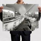 Twa Terminal Idlewild Lounge Restaurant Retro Vintege Poster 32x24 inch