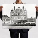 Buildings Shorpy Retro Vintege Poster 32x24 inch