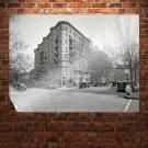 Buildings Street Classic Car Classic Washington Dc Retro Vintege Poster 32x24 inch