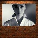 Audrey Hepburn Face Retro Vintege Poster 36x24 inch