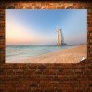 Hotel Dubai Beach Ocean  Poster 36x24 inch