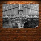 Manhattan Bridge Bridge New York  Poster 36x24 inch