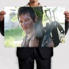 The Walking Dead Daryl Dixon Norman Reedus Crossbow Tv Movie Poster 36x24 inch