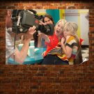 Emma Stone Blonde Icarly Camera Jennette Mccurdy Tv Movie Poster 36x24 inch