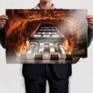 Escalator Underground Rock Stone  Poster 36x24 inch