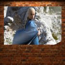 Game Of Thrones Daenerys Targaryen Blonde Emilia Clarke Tv Movie Poster 36x24 inch