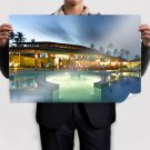 Pool House  Poster 36x24 inch