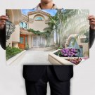 House Mansion  Poster 36x24 inch