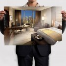 Hotel Room  Poster 36x24 inch