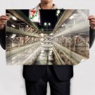Hdr Parking Garage  Poster 36x24 inch