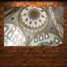 Ceiling Mosque  Poster 36x24 inch
