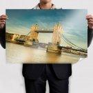 Tower Bridge Bridge London River  Poster 36x24 inch