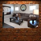 Room Couch Table  Poster 36x24 inch