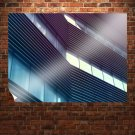 Building Building Windows Windows  Poster 32x24 inch