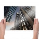Buildings Lloyd S Building London England  Poster 24x18 inch