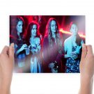Girls Lena Dunham Allison Williams Jemima Kirke Zosia Mamet Tv Movie Poster 24x18 inch