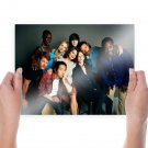 The Walking Dead Cast Tv Movie Poster 24x18 inch