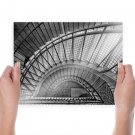 Stairs Staircase  Poster 24x18 inch
