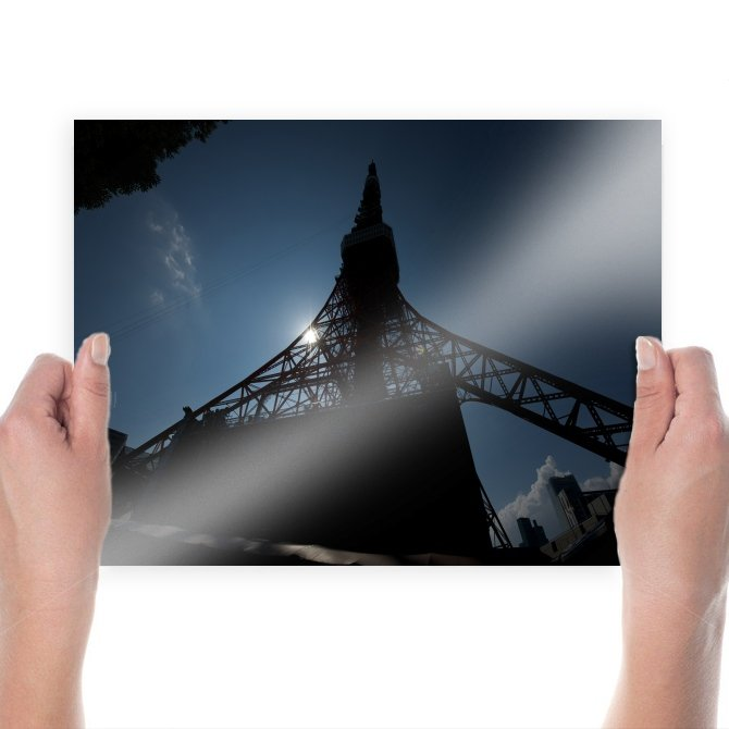 Tower Sunlight  Poster 24x18 inch