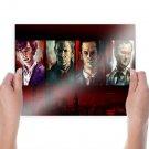Sherlock Drawing Tv Movie Poster 24x18 inch