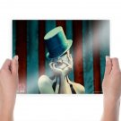 American Horror Story Freakshow Hat Tv Movie Poster 24x18 inch
