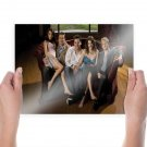 How I Met Your Mother Cast Couch Tv Movie Poster 24x18 inch