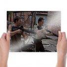 The Walking Dead Shotgun Crossbow Norman Reedus Daryl Dixon Rick Grimes Andrew Lincoln Tv Movie Post