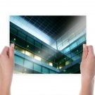 Windows Building  Poster 24x18 inch
