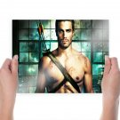 Arrow Stephen Amell Tv Movie Poster 24x18 inch