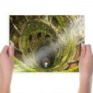 Hole Moss Green  Poster 24x18 inch