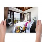 House Bedroom Bed  Poster 24x18 inch