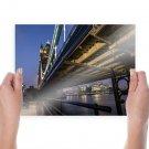 Tower Bridge London Bridge  Poster 24x18 inch