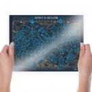 Star Wars Constellations Stars  Poster 24x18 inch