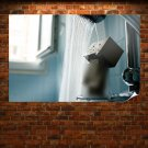 Danbo Shower Water Censored  Poster 36x24 inch