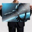 Star Citizen Spaceship Space Station  Poster 36x24 inch