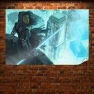 Star Wars Lightsaber Buildings  Poster 36x24 inch