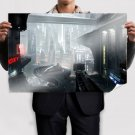 Future Drawing Buildings Star Citizen  Poster 36x24 inch