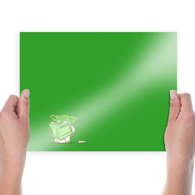 Star Wars Yoda Green  Poster 24x18 inch