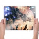 Spaceships  Poster 24x18 inch