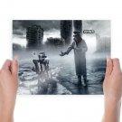 Romantically Apocalyptic Apocalypse Buildings Zee Captain  Poster 24x18 inch