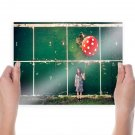 Child Balloon Wall Sexy Hot Poster 24x18 inch
