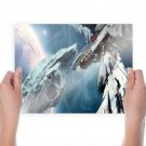 Leviathan Wakes Spaceship Drawing Planet  Poster 24x18 inch