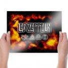 Led Zeppelin Tv Movie Art Poster 24x18 inch