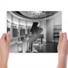 Piano Room Tv Movie Art Poster 24x18 inch