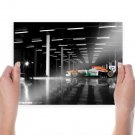 Race Car Formula One F1 Tv Movie Art Poster 24x18 inch