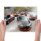 Bugatti Veyron Ferrari Ff Ford Mustang Boss Pagani Zonda Mclaren Mp4 12c Top Gear Stig Tv Movie Art