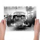 Porsche Race Car Turbo Garage Engine Tv Movie Art Poster 24x18 inch
