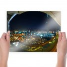 Dubai Hdr Tv Movie Art Poster 24x18 inch